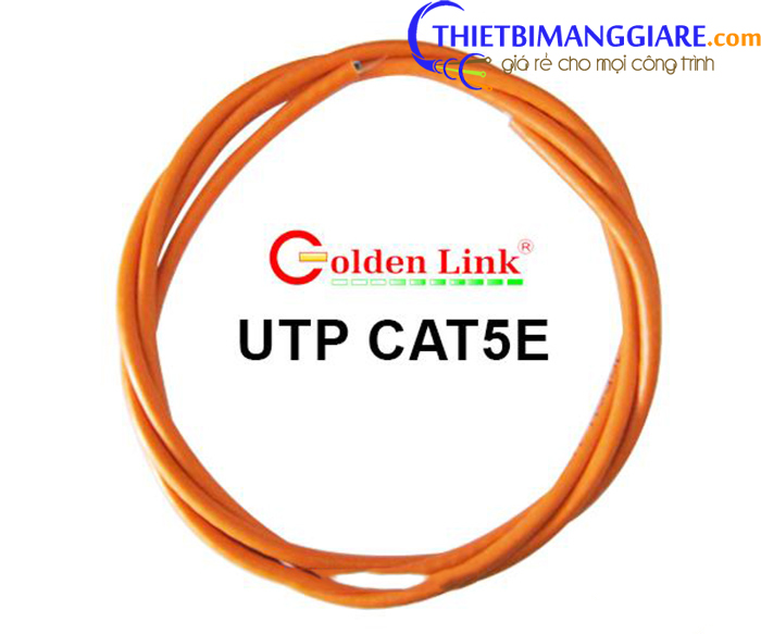 Cáp mạng UTP CAT5E Platinum Golden Link