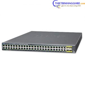 Switch chia mạng PLANET GS-4210-48T4S 48 Port BASE-T + 4 Port BASE-X