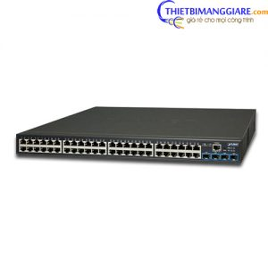 Switch chia mạng PLANET GS-2240-48T4X 48-port + 4-port 10G SFP + Web Smart